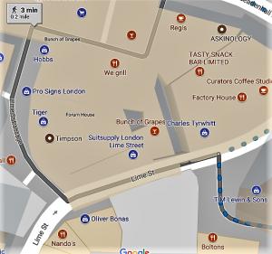 Restaurants Near Lloyds of London