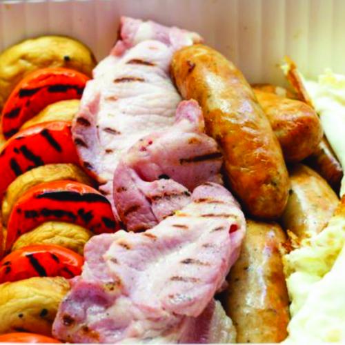 Boltons breakfast menu